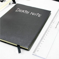 High Quality Death Note Notebook + Feather Pen Book Anime Theme Writing Journal