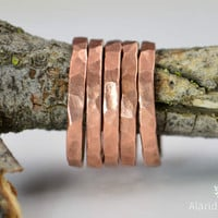 Super Thick Stackable Copper Rings