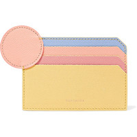 Roksanda - Textured-leather cardholder
