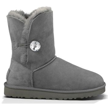 UGG boots Australia Womens boots Bailey Button Bling ugg snow boots