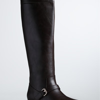 Ankle Strap Tall Boots (Wide Width & Wide Calf)