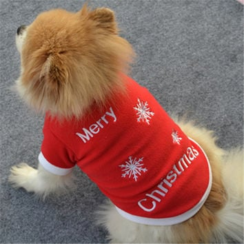 Christmas Coats For Puppies
