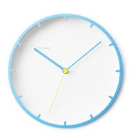 MONOQI | Tick Wall Clock - Blue