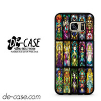 Stained Glass Disney Princess DEAL-9929 Samsung Phonecase Cover For Samsung Galaxy S7 / S7 Edge
