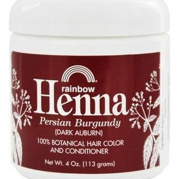 Rainbow Research Henna Natural Black Hair Color and Conditioner Dye