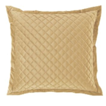Cowgirl Kim Luxurious Quilted Gold Euro Shams~ Shams Only