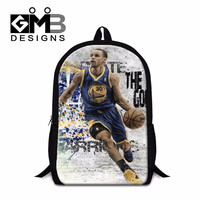 Stephen Curry School Backpacks for Teen Boys,Cool Shoulder bookbags,Polyester Mochilas for Teenager Children's Back pack bagpack