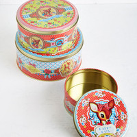 ModCloth Quirky Sweet Sweet Fawn-tasy Container Set