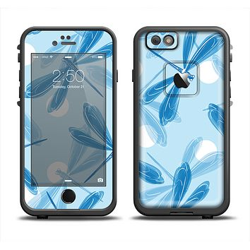 The Blue DragonFly Apple iPhone 6 LifeProof Fre Case Skin Set