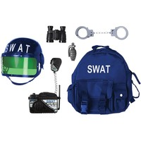 Swat Adventure Play Set - Kids (Black)