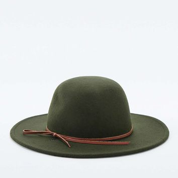Rhythm Suffolk Trilby Olive Hat - Urban Outfitters