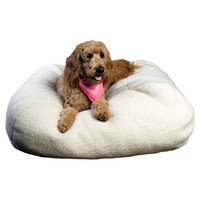 Everest Pet Sherpa Puff Ball Dog Pillow