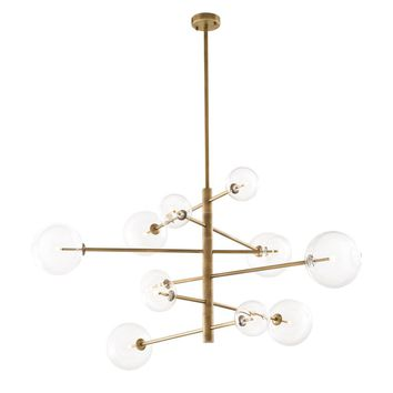 Antique Brass Chandelier | Eichholtz Argento L