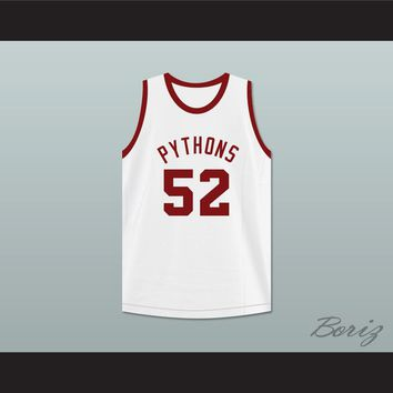 Bullet Haines 52 Pittsburgh Pythons Basketball Jersey The Fish That Saved Pittsburgh