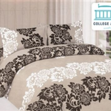 Floret Print Twin XL Comforter Set - College Ave Designer Series