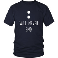 Valentine's Day T Shirt - Will never end
