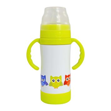 INSULATED STAINLESS STEEL SIPPY CUP / Bottle - 10 oz