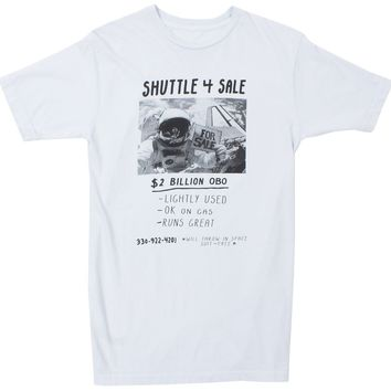 Shuttle 4 Sale, slate blue funny graphic tee