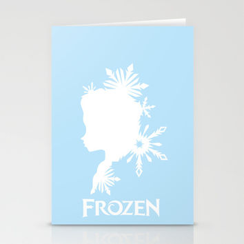 Frozen Stationery Cards by Citron Vert