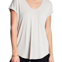 Lush | Rolled Sleeve Pocket Tee | Nordstrom Rack