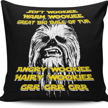 Wookiee pillow cover