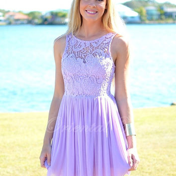 Vestido madrinhas 2017 Lavender Lace Junior Bridesmaid Dress Short Wedding  Party Gowns A-line Cheap 87888e2898a7