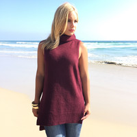 Wool You Love Me Turtleneck Knit Top