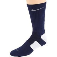 Nike Elite Performance Sock - Navy/White Large