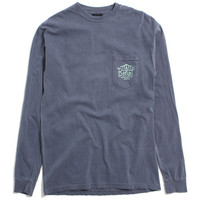 Triboro Longsleeve Pocket T-Shirt Denim