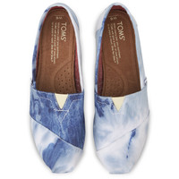 TOMS Blue Tie Dyed Women's Classics