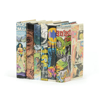 Go Home Linear Foot of Vintage Comic Book Design Books - M100TLF