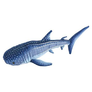17 Inch Whale Shark Plush Stuffed Animal Floppy Ocean Species Collection