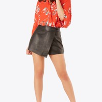 Love Leather Vegan Skort