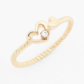BP. Heart Midi Ring (Juniors) | Nordstrom