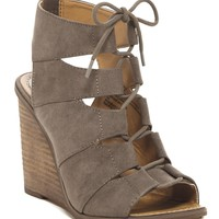 Melrose and Market | Calista Fab Wedge Sandal - Multiple Widths Available | Nordstrom Rack