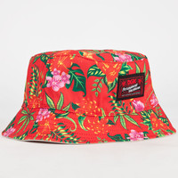Dgk Permanent Vacation Mens Reversible Bucket Hat Khaki One Size For Men 23284941501