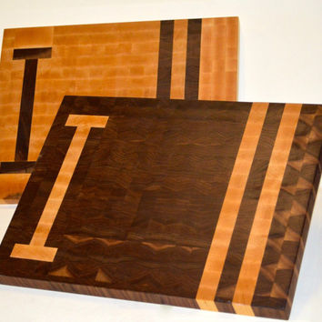 Personalized End Grain Cutting Board **ADD ON** Custom and Handmade