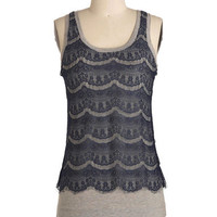 Mid-length Tank top (2 thick straps) Byham Top