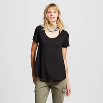 Women's Softest Scoop Tee - Merona™