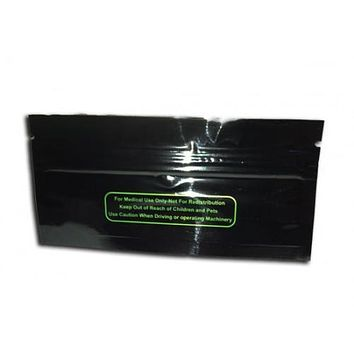 "Child Resistant Smell Proof Baggy (4.5"" x 2"") Black"