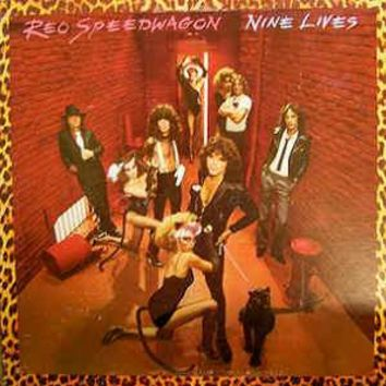 Nine Lives - REO Speedwagon, LP (Pre-Owned)