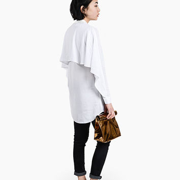 White U-Back Shirt