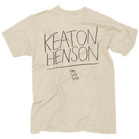 Keaton Henson - LIMITED EDITION - ECRU SAD SAD SAD T-SHIRT