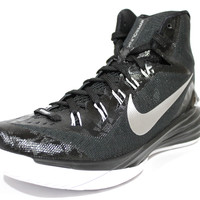 Nike Women's Hyperdunk 2014 Black/White Basketball Shoes 653484 001