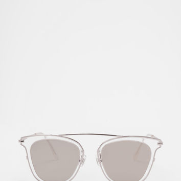 Gentle Monster - Supernature White Sunglasses