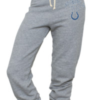 NFL Indianapolis Colts Vintage Sunday Sweatpants - Women's Collections - NFL - All - Junk Food Clothing