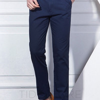 Simmons Loose Fit Straight Casual Pants