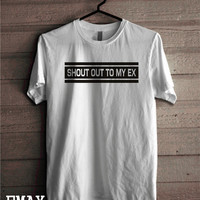 Little Mix Shirt - Shout Out to My Ex T-shirt, Unisex Tee Music band Shirt 100% Cotton