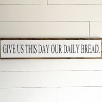 The Lord's Prayer Oversized Sign