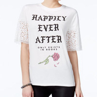 Love Tribe Juniors' Ever After Graphic T-Shirt — Love Tribe Apparel